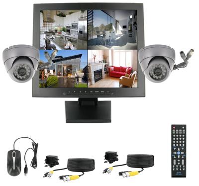 система видеонаблюдения для дома цена